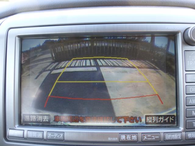 トヨタ アルファードG AS HDD DVD再生 Bカメラ サイドカメラ 両側電動