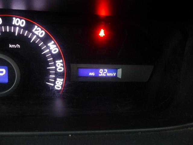☆平均燃費なども見ることが出来るので便利ですね☆