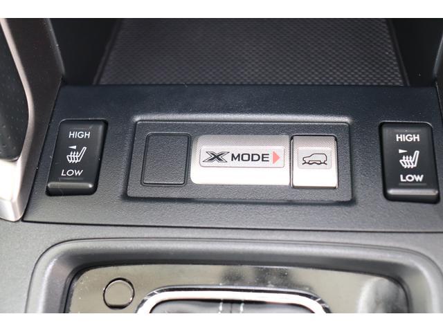 シ-トヒ-タ-は冬場にうれしい装備ですね。Xモードは、滑りやすい路面でタイヤが空転、スリップしそうな時にエンジン・AWD・ブレ-キを統合制御して走破性を高めます。