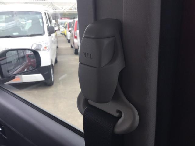 シートベルトは高さ調整が可能です!