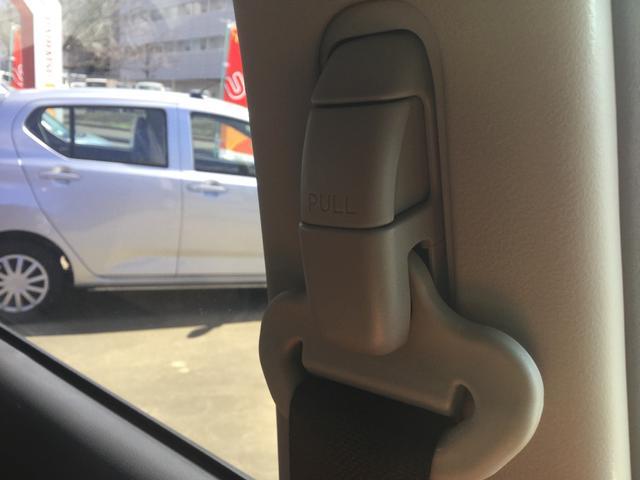 高さ調整可能なシートベルトです!