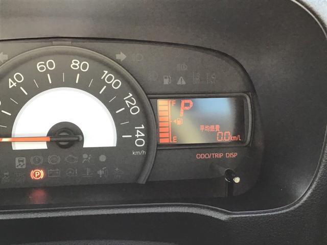 """メーター内には、""""平均燃費""""や次回給油までの距離をお知らせする""""航続可能距離""""など、走行に役立つ様々な情報が表示されます♪"""