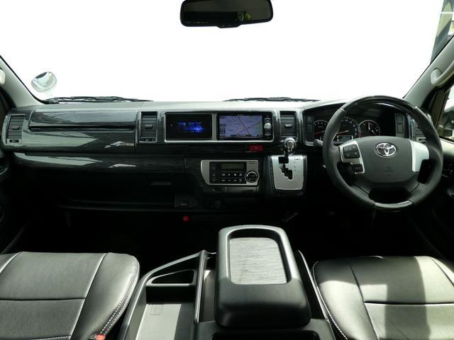 トヨタ ハイエースワゴン 2.7GL Ver1トリプルモニター