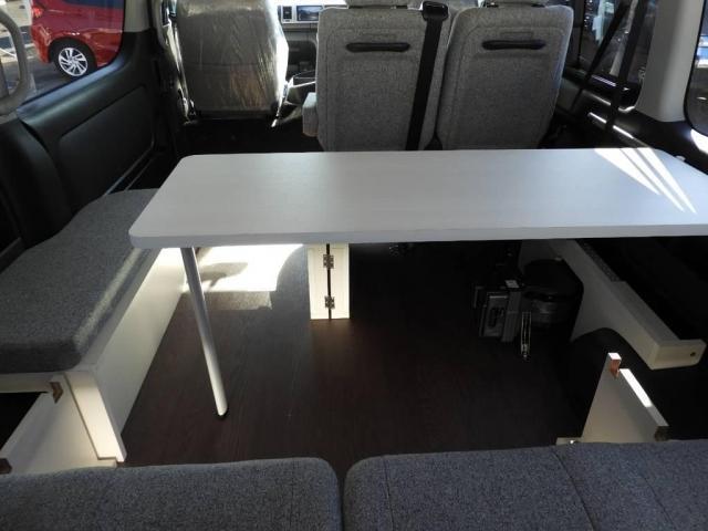 トヨタ ハイエースワゴン GL4WD ROOMCAR サイドオーニングドラレコ