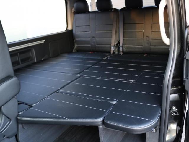車中泊にぴったりなフラットベッドパターン♪
