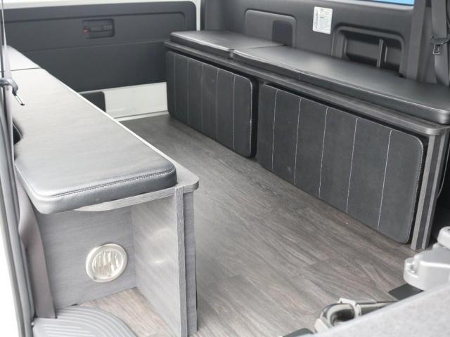 スーパーGL ダークプライムII ロングボディ 新型PVM付 Ver4内装架装 両側自動ドア(9枚目)