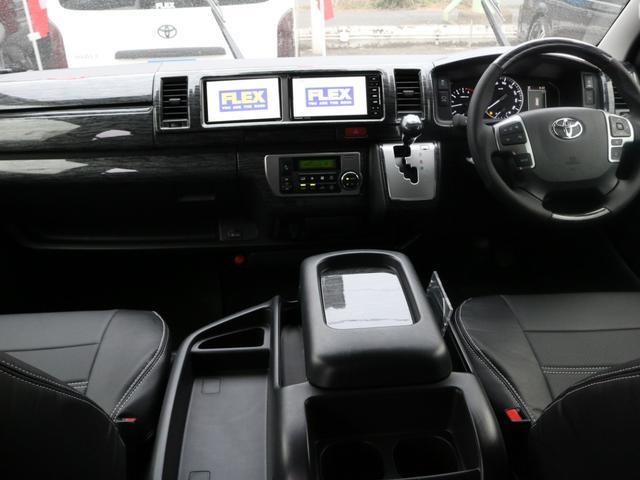 GL ベット&テーブル車中泊仕様/Ver1.5 オフロードパッケージ フルセグナビ/サブモニター フリップダウンモニター/ルーフスピーカー ナイトロパワー16インチAW TOYOオープンカントリータイヤ(2枚目)