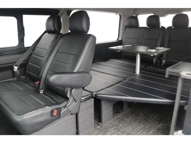 GL ベット&テーブル車中泊仕様/Ver1.5 オフロードパッケージ フルセグナビ/サブモニター フリップダウンモニター/ルーフスピーカー ナイトロパワー16インチAW TOYOオープンカントリータイヤ(6枚目)