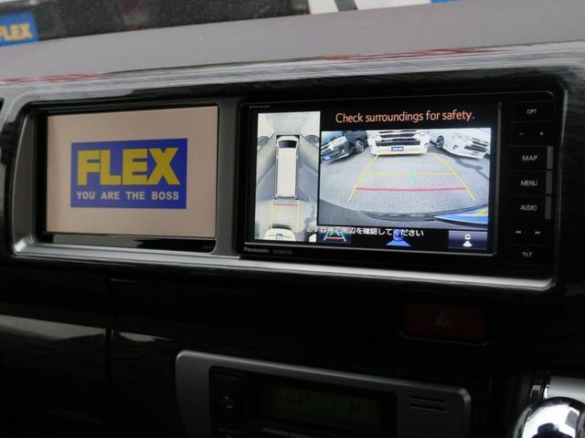 GL ベット&テーブル車中泊仕様/Ver1.5 オフロードパッケージ フルセグナビ/サブモニター フリップダウンモニター/ルーフスピーカー ナイトロパワー16インチAW TOYOオープンカントリータイヤ(13枚目)