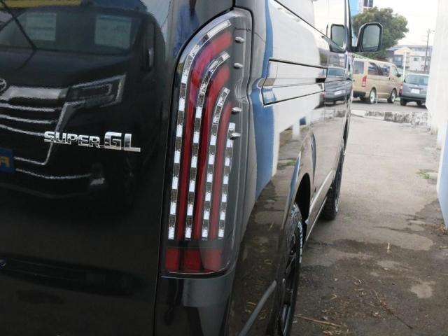 スーパーGL ダークプライムII ロングボディ オフロードパッケージ 両側自動ドア ベットキット(18枚目)