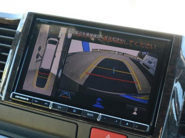 6型からパノラミックビューモニターの追加が出来ます!360°全方位から安全運転をサポートします!