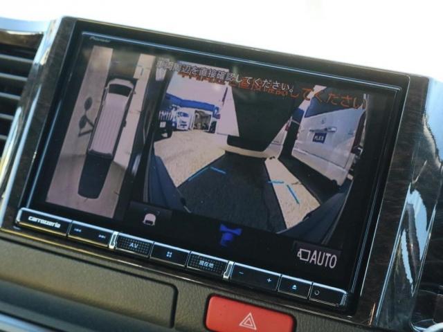 駐車時の飛出し事故を防止するパーキングサポートブレーキ搭載!