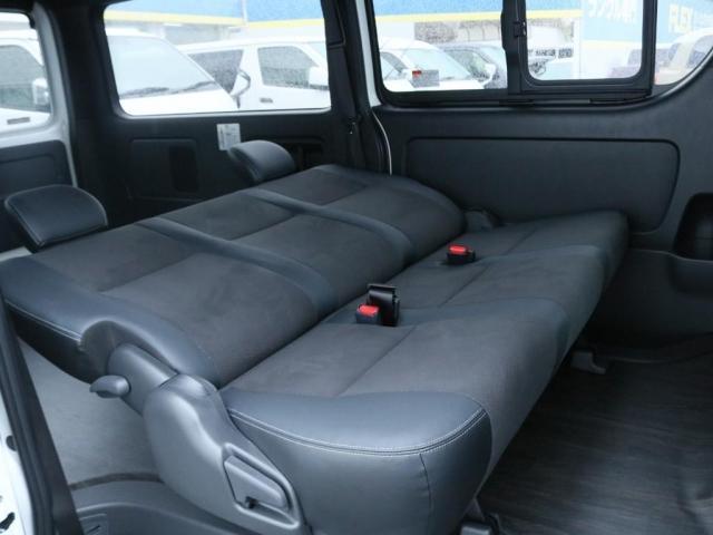 スーパーGL ダークプライムII ロングボディ オフロードパッケージ 床張り施工 フルセグナビ(9枚目)