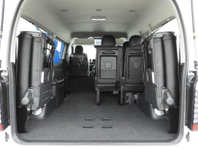 GL 新車/ナビパッケージ 10人乗り パノラミックビューモニター オートスライドドア フルセグナビ/フリップダウンモニター/ETC FLEXフロントリップ/オーバーフェンダー 38mmダウン(18枚目)