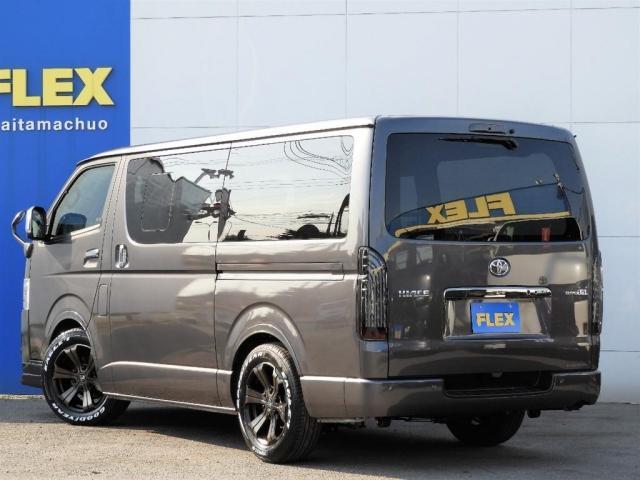 スーパーGL ダークプライムII 新車/BIG-X11インチフローティングナビ FLEXフロントリップ/オーバーフェンダー アーバンワイルド17インチ グッドイヤーナスカータイヤ FLEXフルLEDテール パノラミックビューモニター(8枚目)