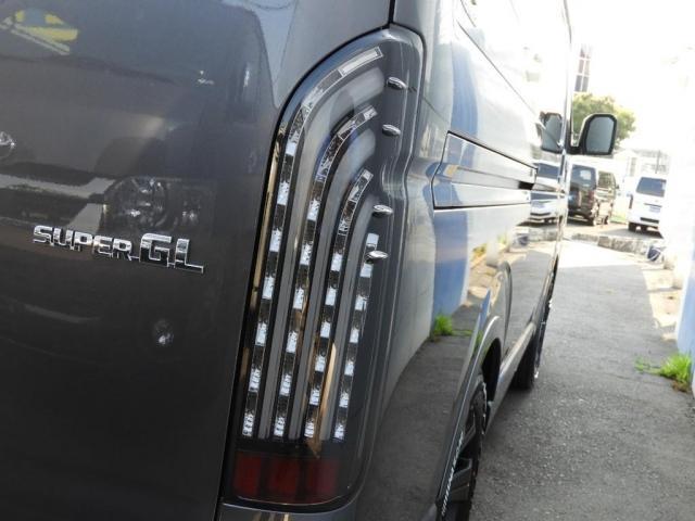 スーパーGL ダークプライムII 新車/BIG-X11インチフローティングナビ FLEXフロントリップ/オーバーフェンダー アーバンワイルド17インチ グッドイヤーナスカータイヤ FLEXフルLEDテール パノラミックビューモニター(17枚目)