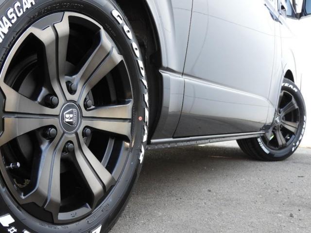 スーパーGL ダークプライムII 新車/BIG-X11インチフローティングナビ FLEXフロントリップ/オーバーフェンダー アーバンワイルド17インチ グッドイヤーナスカータイヤ FLEXフルLEDテール パノラミックビューモニター(19枚目)