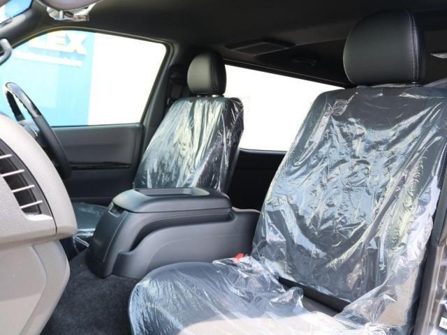 スーパーGL ダークプライムII 新車/2800クリーンディーゼル ベットキット 両側自動ドア ブラックエディション インナーブラックライト マッドブラックカスタム パナソニックフルセグナビ/ETC 新作カーボン調オーバーフェンダー(15枚目)