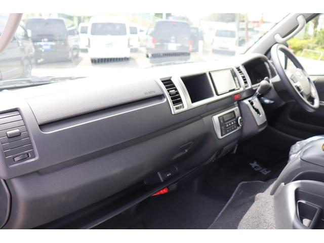 GL ロング 新車/車中泊Ver1 DENIMインテリア仕様 フルセグナビ/フリップダウンモニター/ビルトインETC Delfino Lineフロントエアロ/オーバーフェンダー プレステージLEDテール(14枚目)