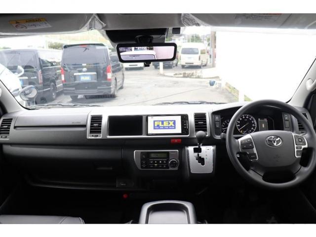 GL ロング 新車/車中泊仕様Ver1 フルセグナビ/フリップダウン Delfino Lineフロントエアロ/オーバーフェンダー アーバンワイルド17インチAW グッドイヤーナスカータイヤ プレステージLEDテール(7枚目)