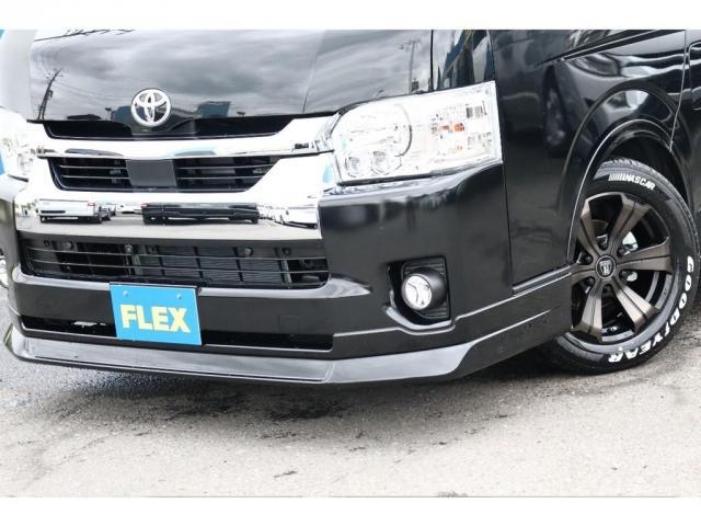 GL ロング 新車/車中泊仕様Ver1 フルセグナビ/フリップダウン Delfino Lineフロントエアロ/オーバーフェンダー アーバンワイルド17インチAW グッドイヤーナスカータイヤ プレステージLEDテール(17枚目)