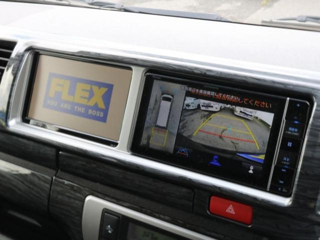 GL ロング 新車/内装架装Ver1 フルセグナビ/サブモニター/フリップダウンモニター 黒木目インテリア Delfino Lineフロントエアロ/オーバーフェンダー プレステージLEDテール(8枚目)