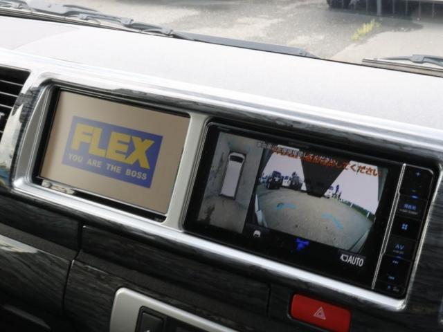 GL ロング 新車/内装架装Ver1 フルセグナビ/サブモニター/フリップダウンモニター 黒木目インテリア Delfino Lineフロントエアロ/オーバーフェンダー プレステージLEDテール(9枚目)