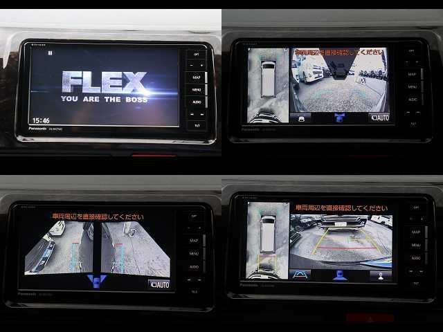 スーパーGL ダークプライムII 新車/フルセグナビパッケージ 小窓付 415コブラフロントエアロ FLEXオーバーフェンダー プレステージLEDテール 1.5インチダウン DELF02 17インチAW グッドイヤーナスカータイヤ(3枚目)
