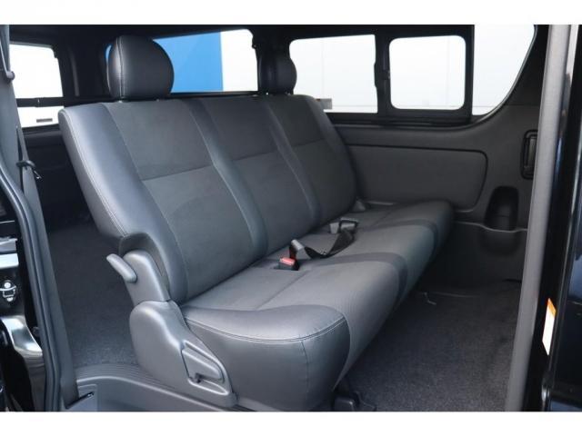 スーパーGL ダークプライムII 新車/フルセグナビパッケージ 小窓付 415コブラフロントエアロ FLEXオーバーフェンダー プレステージLEDテール 1.5インチダウン DELF02 17インチAW グッドイヤーナスカータイヤ(9枚目)