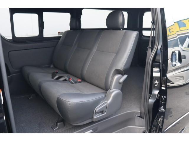 スーパーGL ダークプライムII 新車/フルセグナビパッケージ 小窓付 415コブラフロントエアロ FLEXオーバーフェンダー プレステージLEDテール 1.5インチダウン DELF02 17インチAW グッドイヤーナスカータイヤ(11枚目)