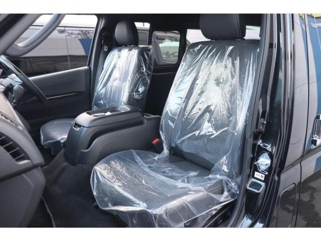 スーパーGL ダークプライムII 新車/フルセグナビパッケージ 小窓付 415コブラフロントエアロ FLEXオーバーフェンダー プレステージLEDテール 1.5インチダウン DELF02 17インチAW グッドイヤーナスカータイヤ(12枚目)