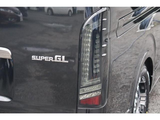 スーパーGL ダークプライムII 新車/フルセグナビパッケージ 小窓付 415コブラフロントエアロ FLEXオーバーフェンダー プレステージLEDテール 1.5インチダウン DELF02 17インチAW グッドイヤーナスカータイヤ(19枚目)