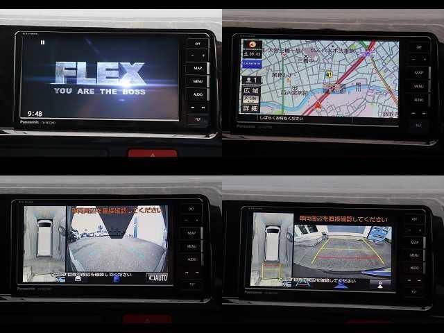 スーパーGL ダークプライムIIワイド ロングボディ 新車/FLEXカスタム フルセグナビ Delfino Lineフロントエアロ/オーバーフェンダー DELF02 17インチAW グッドイヤーナスカータイヤ 1.5インチローダウン(2枚目)