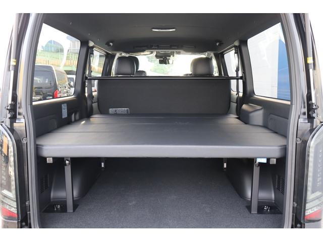スーパーGL ダークプライムII 新車/ダークプライム2 クリーンディーゼル4WD/両側自動ドア オフロードパッケージ/ブラックエディション フルセグナビ/ビルトインETC 高さ調整式ベットキット プレステージLEDテール(3枚目)