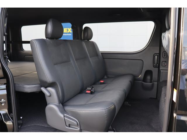 スーパーGL ダークプライムII 新車/ダークプライム2 クリーンディーゼル4WD/両側自動ドア オフロードパッケージ/ブラックエディション フルセグナビ/ビルトインETC 高さ調整式ベットキット プレステージLEDテール(20枚目)