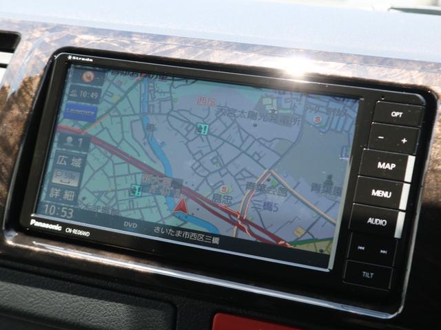 スーパーGL ダークプライムII 新車/ダークプライム2 両側自動ドア フルセグナビ Delfino Lineフロントエアロ/オーバーフェンダー ワイルドディープス17インチAW グッドイヤーナスカータイヤ パノラミックビューモニター(5枚目)