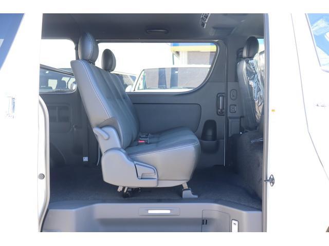 スーパーGL ダークプライムII 新車/ダークプライム2 両側自動ドア フルセグナビ Delfino Lineフロントエアロ/オーバーフェンダー ワイルドディープス17インチAW グッドイヤーナスカータイヤ パノラミックビューモニター(15枚目)
