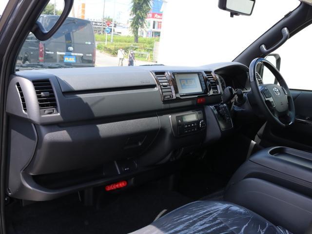 スーパーGL ダークプライムII 新車/ダークプライム2 両側自動ドア フルセグナビ Delfino Lineフロントエアロ/オーバーフェンダー ワイルドディープス17インチAW グッドイヤーナスカータイヤ パノラミックビューモニター(19枚目)