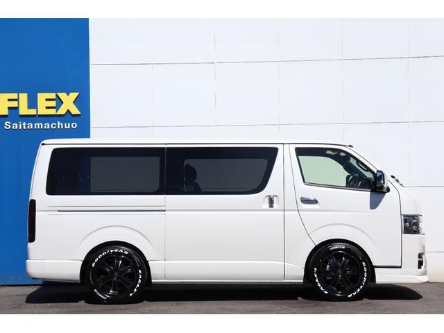 スーパーGL ダークプライムII 新車/ダークプライム2 両側自動ドア フルセグナビ Delfino Lineフロントエアロ/オーバーフェンダー ワイルドディープス17インチAW グッドイヤーナスカータイヤ パノラミックビューモニター(22枚目)