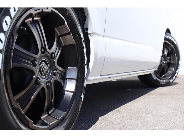 スーパーGL ダークプライムII 新車/ダークプライム2 両側自動ドア フルセグナビ Delfino Lineフロントエアロ/オーバーフェンダー ワイルドディープス17インチAW グッドイヤーナスカータイヤ パノラミックビューモニター(26枚目)