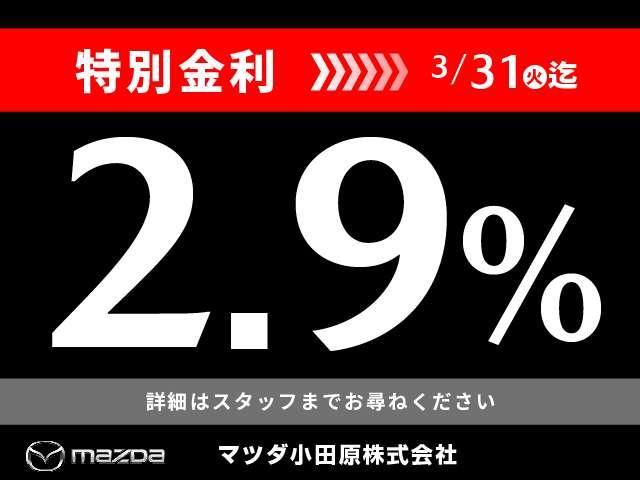 ◆決算条件と致しまして、特別金利2.9%を適用させていただきます◇この機会をお見逃しなく!◆