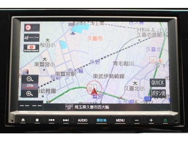 L ホンダセンシング 純正8インチナビTV バックカメラ クルーズコントロール LEDフォグランプ ETC(3枚目)