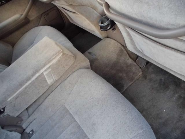 後ろ席も本当に綺麗です!