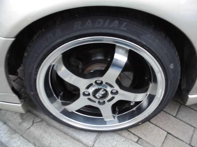 SiR オールペイントシャンパンラメ 純正5速 KTS極低車高調 社外アッパーアーム RAYS16インチAW USヘッドライトチャンバーエアクリーナー ZEROFIGHTERステンエキマニ 破損ブーツ類整備済(6枚目)