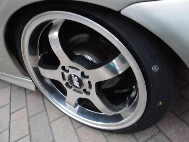 SiR オールペイントシャンパンラメ 純正5速 KTS極低車高調 社外アッパーアーム RAYS16インチAW USヘッドライトチャンバーエアクリーナー ZEROFIGHTERステンエキマニ 破損ブーツ類整備済(7枚目)