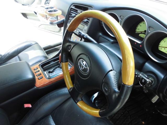 S300 生誕10周年記念特別仕様車 コンビハンドル 黒革シート シートヒーター カロッツエリアHDDナビ フルセグTV バックカメラ ETC  フルオート左右独立エアコン キーレスエントリー 整備2年取得渡し(11枚目)