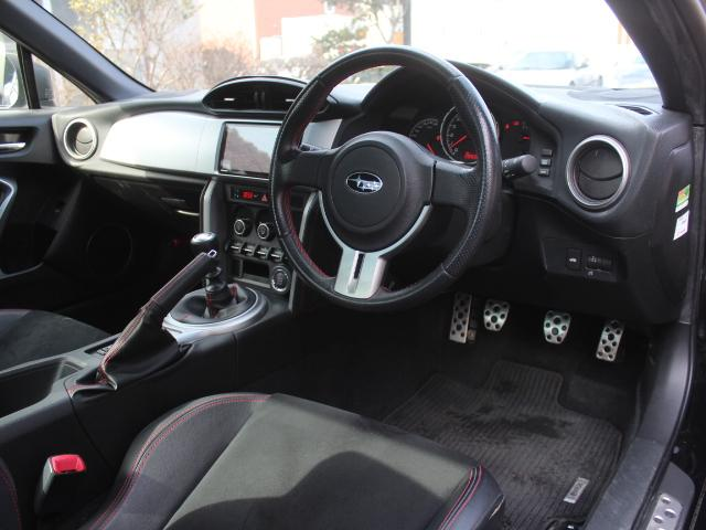 スバル BRZ S テイン車高調 ワーク19AW HKSマフラー HDDナビ