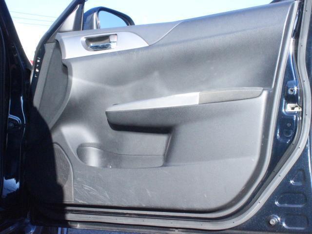 WRX STI アプライドA型 カロッツエリアオーディオ SUBARUブースト計 6MT SI-DRIVE 純正18アルミ 純正STiシート プッシュスタート スマートキー HID ETC(9枚目)