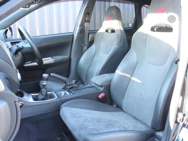 WRX STI アプライドA型 カロッツエリアオーディオ SUBARUブースト計 6MT SI-DRIVE 純正18アルミ 純正STiシート プッシュスタート スマートキー HID ETC(11枚目)
