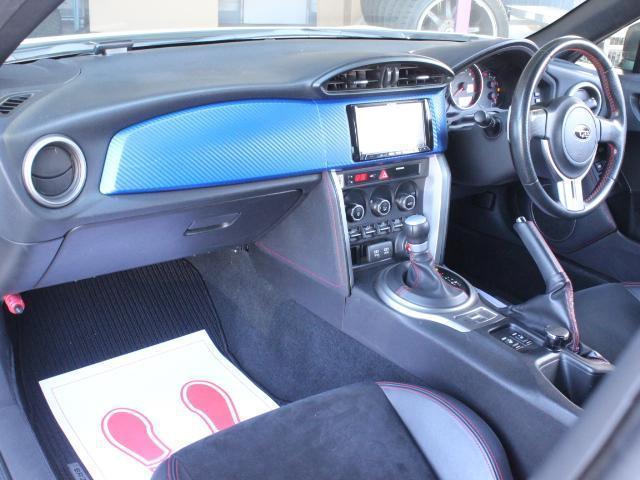 S アプライドA型 STiフロントリップ TRDトランクスポイラー TRDサイドリアスポ モデリスタエアロ TOMSテール トラストマフラー A-TECH17アルミ  HDDナビ フルセグ Bカメ(9枚目)